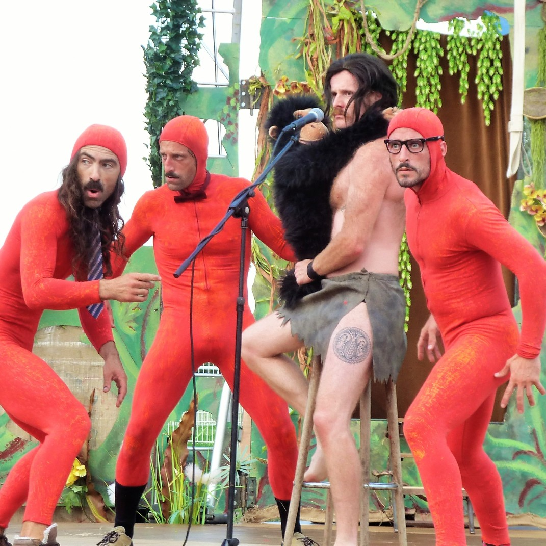 Tarzan et ses singes